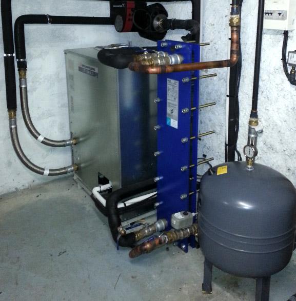 Pompe à chaleur eau/air